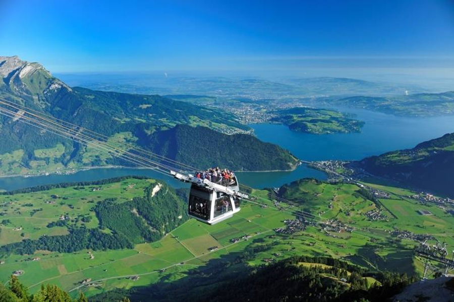 Private Guided City Walk And Excursion To Mt Stanserhorn